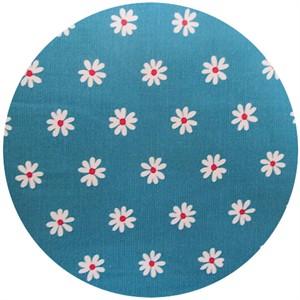 Cosmo Textiles, CORDUROY, Daisy Aqua