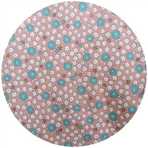 Cosmo Textiles, COTTON LAWN, 30�s Floral Rosewater