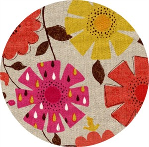 Cosmo Textiles, Country Table, OXFORD, Picnic Floral Bright