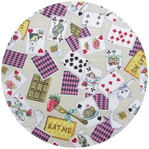 Cosmo Textiles, Dessert Time Alice, Beige