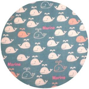 Cosmo Textiles, DOUBLE GAUZE, Marine Teal