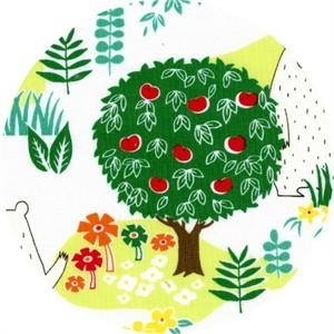 Cosmo Textiles, Forest Delight, Bear Eden White