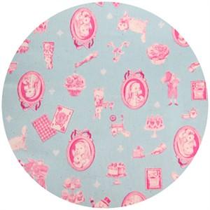 Cosmo Textiles, Oh Alice, Aqua