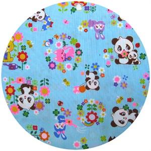 Cosmo Textiles, Panda Garden Blue