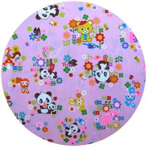Cosmo Textiles, Panda Garden Pink