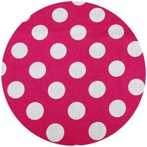 Cosmo Textiles, Seeing Spots, Bright Pink