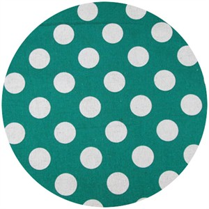 Cosmo Textiles, Seeing Spots, Turquoise