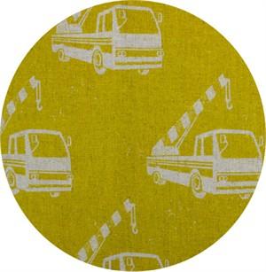 Echino, Fall 2016, CANVAS, Crane Truck Mustard