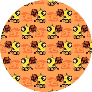 Quilting Treasures, Minions, Cro Minions Set Orange