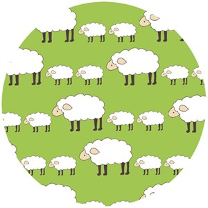 Creative Thursday, Locally Grown, Sheep Parade Green