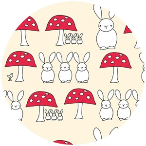 Creative Thursday, The Red Thread, Bunny Triplets Cream