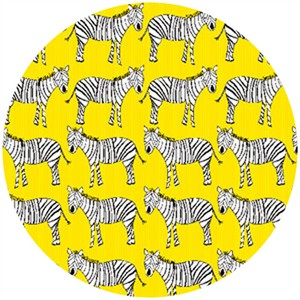 Creative Thursday, Zaza Zoo, Zebra March Yellow