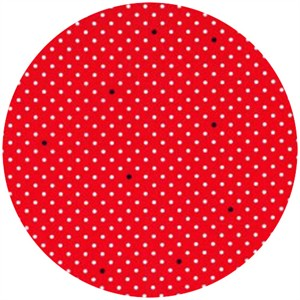 Cynthia Rowley, Paint Box, Pin Dot Red