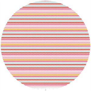 Dani for Riley Blake, Girl Crazy, Stripe Pink