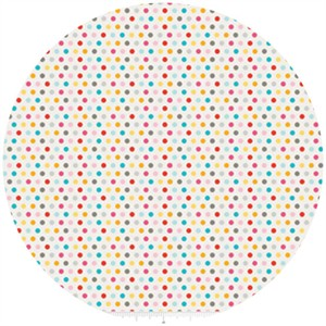Dani for Riley Blake, Girl Crazy, Dots Cream