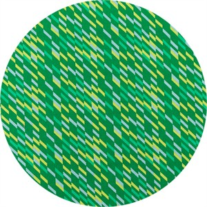 Japanese Import, Geogram, Dashed Green