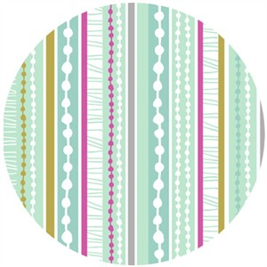 Dashwood Studio, Petite Street Stripes Aqua