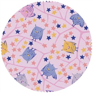 David Textiles, FLANNEL, Up in the Stars Pink