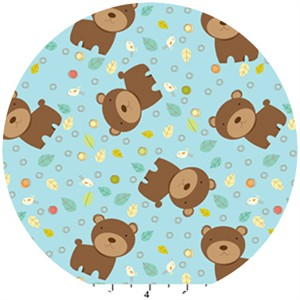 David Textiles, Fun the Bear, Bears Sky