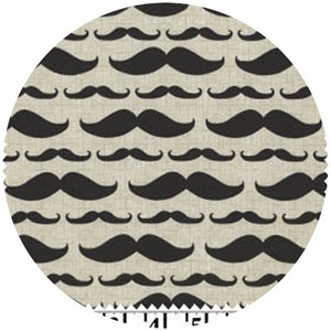 David Textiles, Ladies & Gentlemen, Mustachio Natural