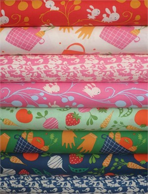 David Walker, Garden in FAT QUARTERS 8 Total