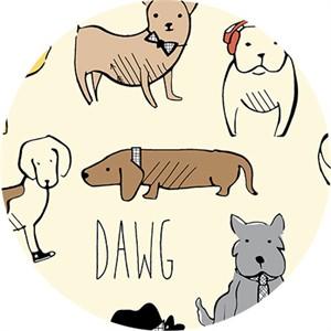 Sally Bell Sharp for Ink & Arrow, Dawg, Dawgs Cream