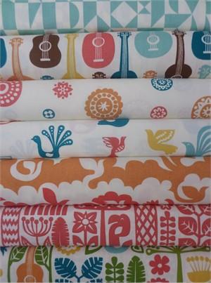 Dennis Bennett Birch Organic Fabrics, Ipanema, Girl 7 Total