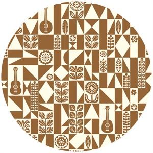 Dennis Bennett for Birch Organic Fabrics, Ipanema, Samba Geo