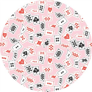 COMING SOON, Josephine Kimberling for Blend, Wonderland, Deck of Cards Pink