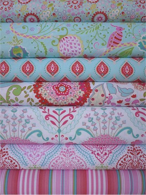 Dena Fishbein, Little Azalea in FAT QUARTERS 7 Total