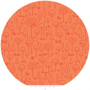 Deena Rutter, Scenic Route, Trees Orange