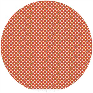 Deena Rutter, Wheels 2, Dots Red