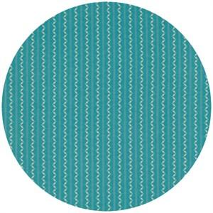 Denyse Schmidt, Ansonia, Fine Stripe Turquoise