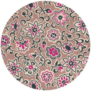 Denyse Schmidt, Ansonia, Floral Paisley Mushroom