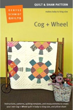 Denyse Schmidt Cog and Wheel Quilt Pattern