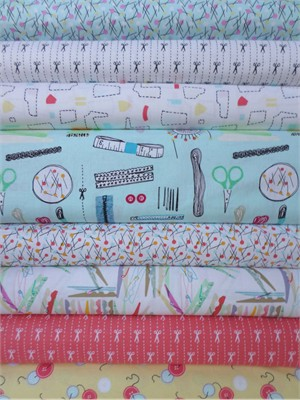 Dear Stella, Do it Yourself, Entire Collection in FAT QUARTERS 8 Total