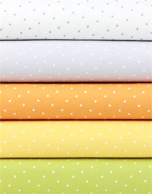 Dear Stella, Intermix, Polka Dots Citrus in FAT QUARTERS 4 Total