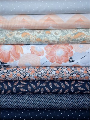 Dear Stella, Mercer in FAT QUARTERS 8 Total