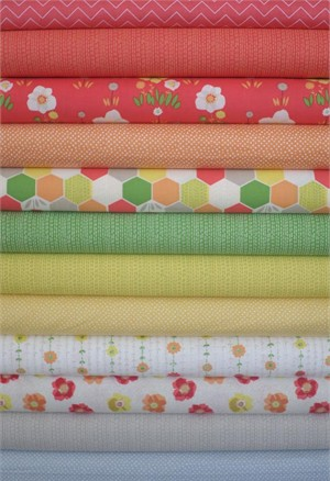 Dear Stella, Savannah in FAT QUARTERS 12 Total