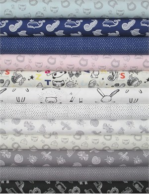 Dear Stella, Wild in FAT QUARTERS 12 Total