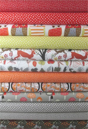 Dear Stella, Woodwinked in FAT QUARTERS 11 Total