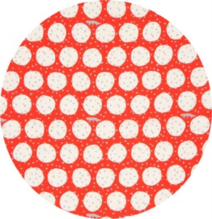 Echino, Land and Sky DOUBLE GAUZE, Den Red