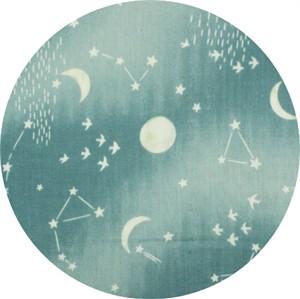 Japanese Import, DOUBLE GAUZE, Starry Night Sky