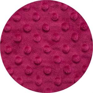 Shannon Fabrics, Dimple Minky, WIDE WIDTH, Magenta