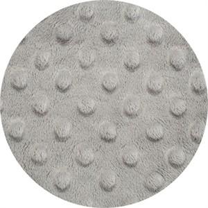 Shannon Fabrics, Dimple Minky, WIDE WIDTH, Steel