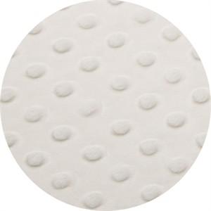 Shannon Fabrics, Dimple Minky, WIDE WIDTH, White