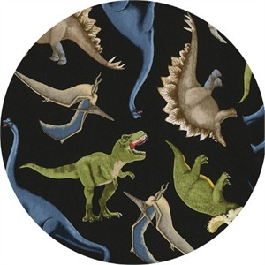 Timeless Treasures, Dino Pals Black