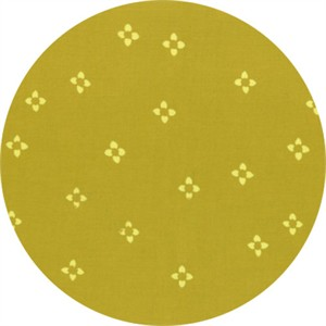 Hoffman Fabrics, Indah BATIKS, Ditsy Floral Chartreuse