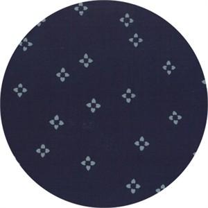 Hoffman Fabrics, Indah BATIKS, Ditsy Floral Navy
