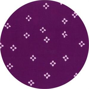 Hoffman Fabrics, Indah BATIKS, Ditsy Floral Purple